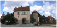 Tor der Burg Hohenberg
