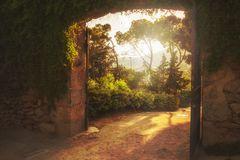 Tor im Park Güell