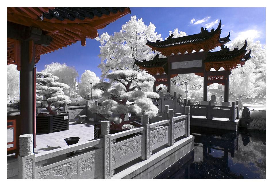 Tor zum Chinesischen Teehaus