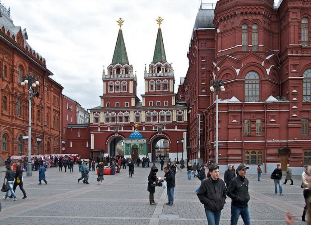 Tor zum Roten Platz