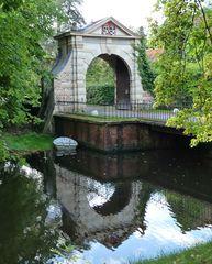 Tor zum Schlosspark Gödens