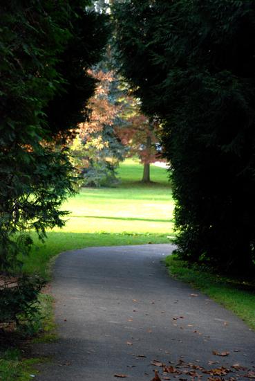 Tor zur Herbstsonne