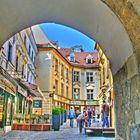 Torbogen Innenstadt Bratislava