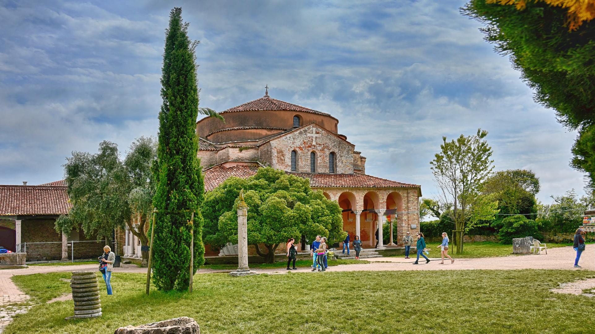 Torcello   - Kirche Santa Fosca -