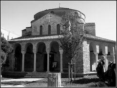 Torcello..bsilica di S.Fosca i b/N