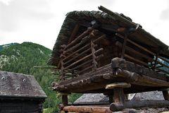 Torfbau 1651 von Mogno