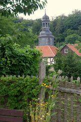 Torhaus eines Schlosses im Harz