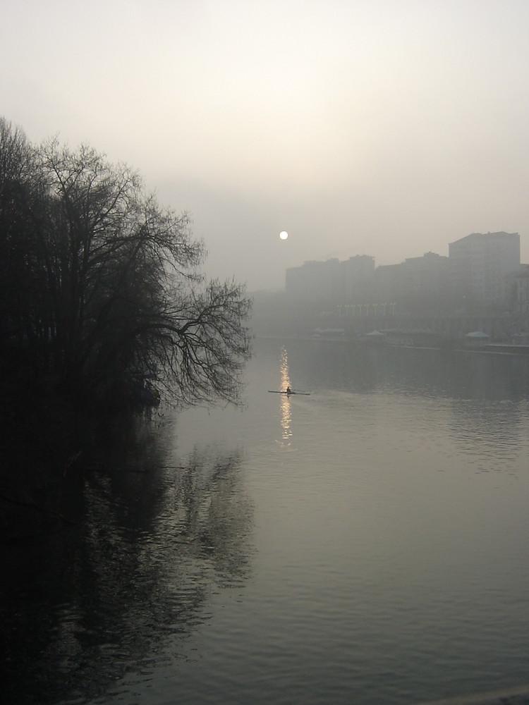 Torino. un vogatore nella nebbia,2007