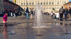 Torino,piazza castello - 2013