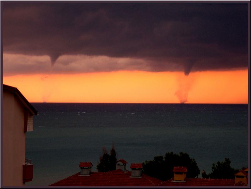 Tornado am Mittelmeer