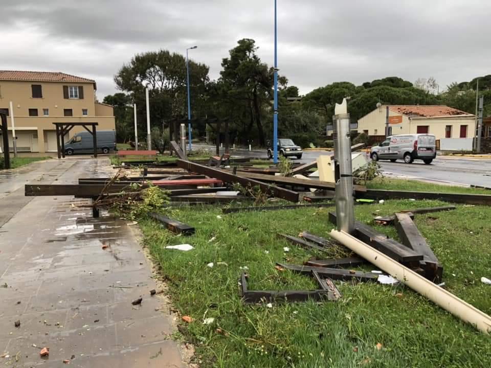 Tornado Narbonne Plage 15.10.2018 06