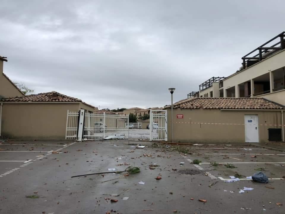 Tornado Narbonne Plage 15.10.2018 10