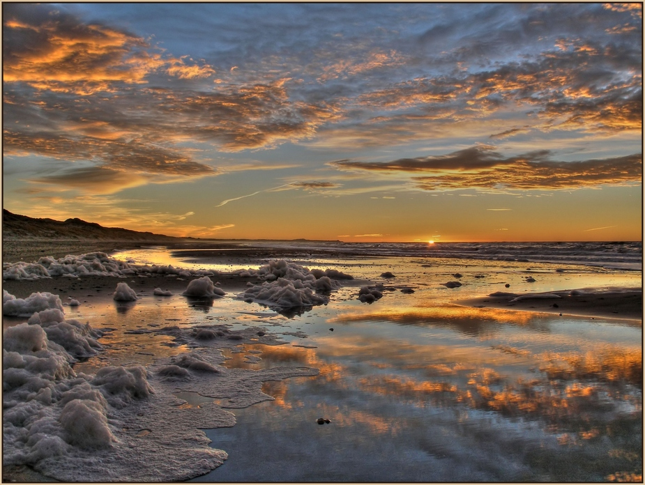 Tornby solnedgang