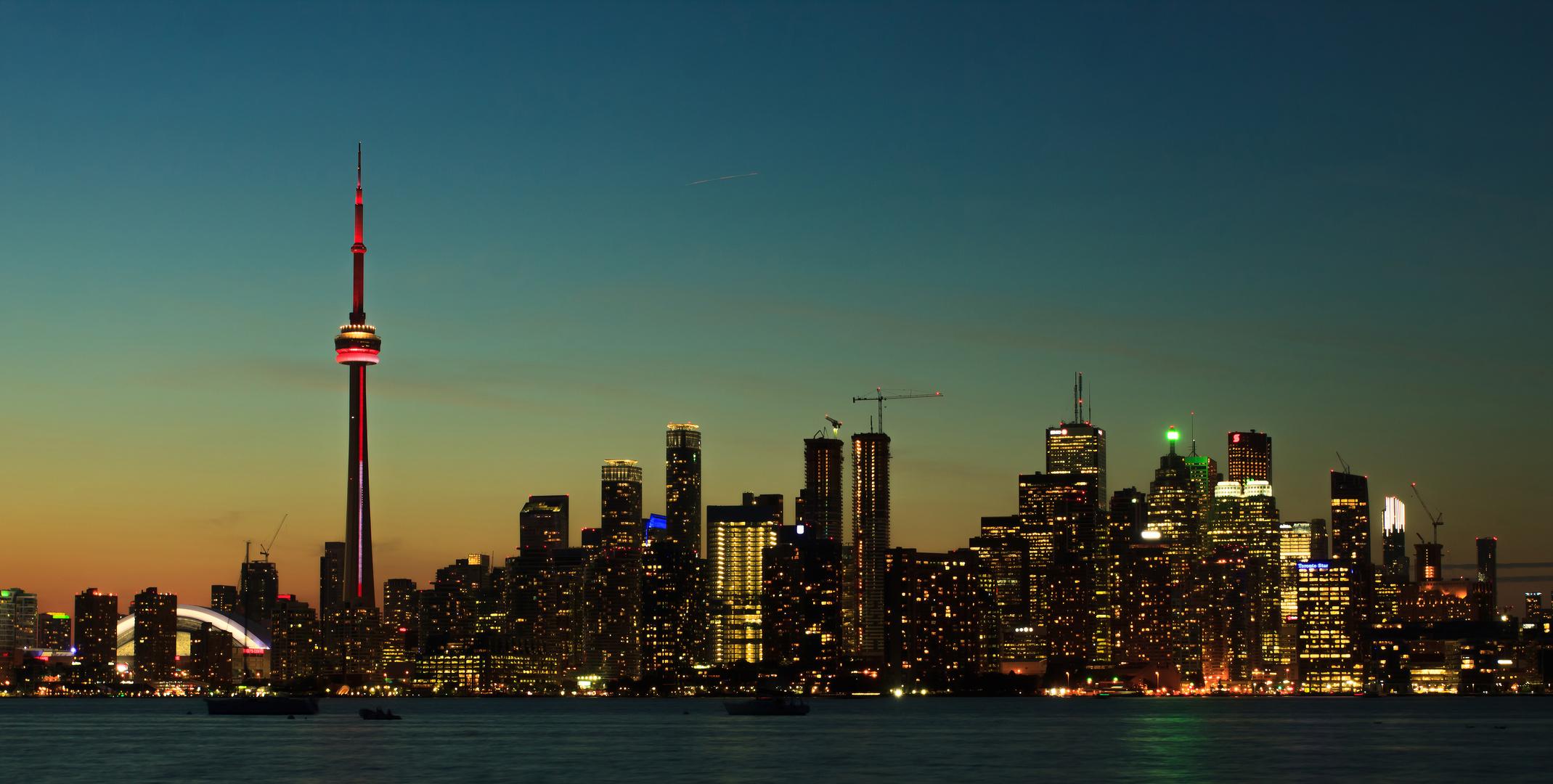 Toronto 'Abendstimmung'