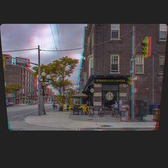 Torontos Little Italy 3-D