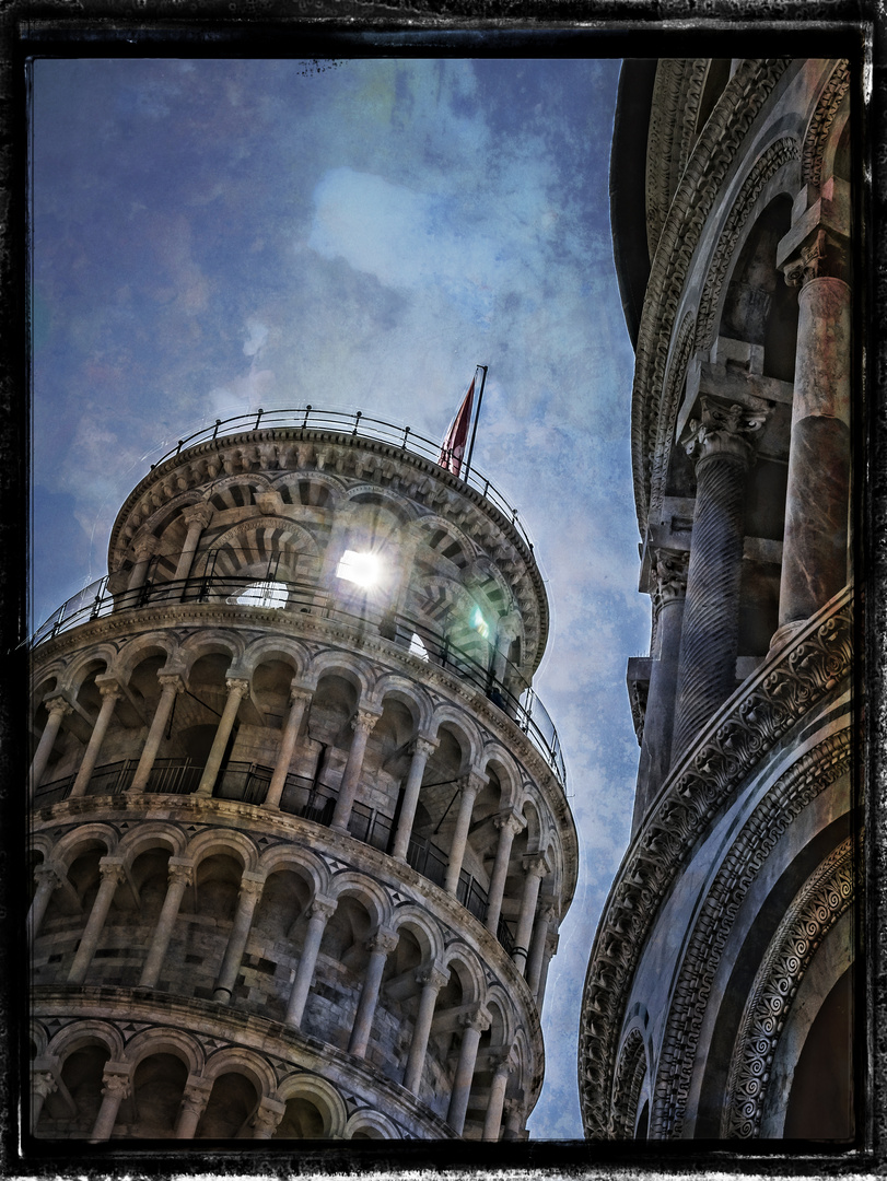 Torre pendente di Pisa II - der schiefe Turm von Pisa II