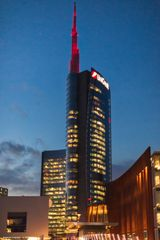 Torre Unicredit, crepuscolo