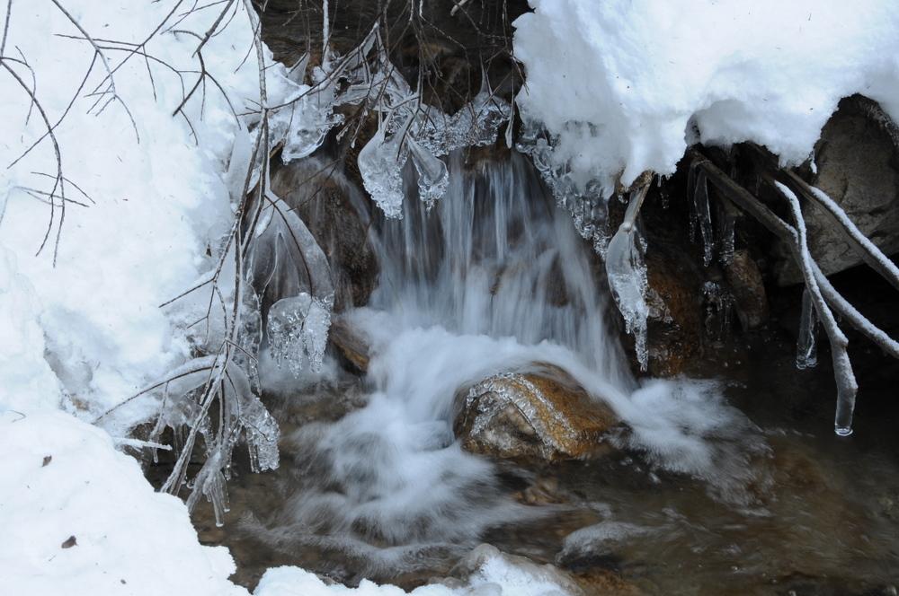 Torrent hivernal