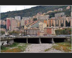 Torrente Bisagno, Genova