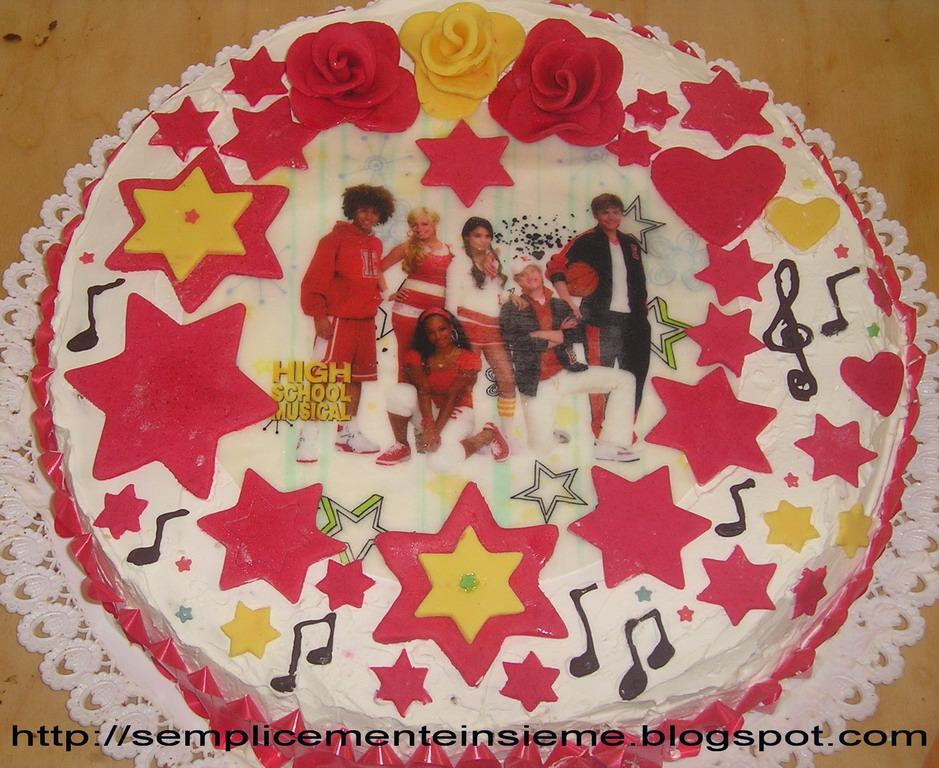 Torta High school musical