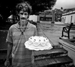 Tortenverkäufer