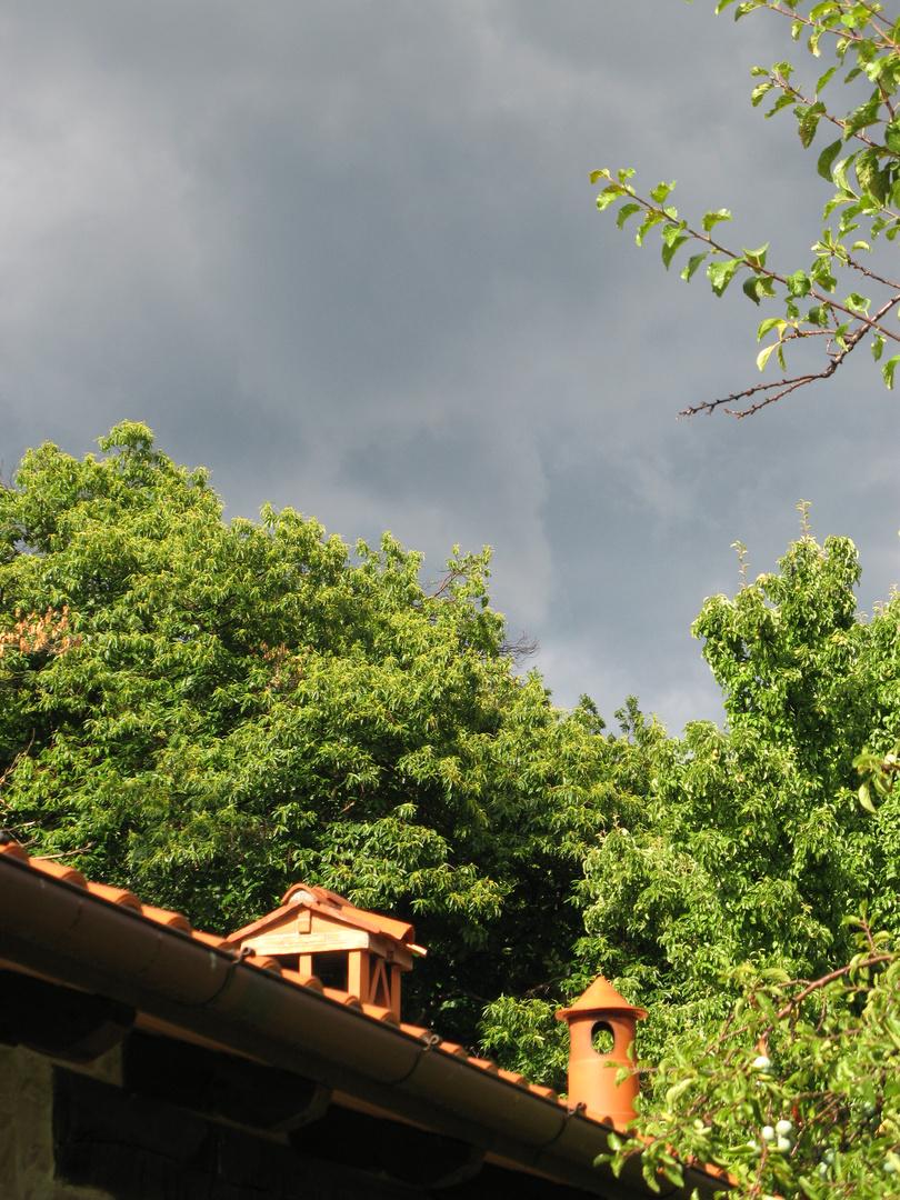 Toscana August 2010 - Regen und Gewitter