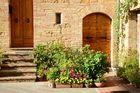 Toscanische Wand