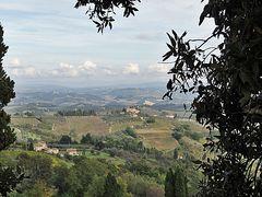 Toskana im Oktober - von Herbstfarben noch keine Spur