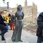 Tossa de Mar, statua alla moglie del navigante