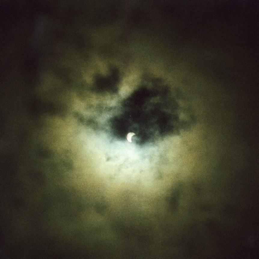 Total Eclipse of the Sun. August 1999. Detail.
