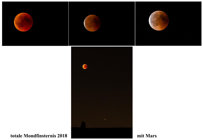 totale Mondfinsternis 2018