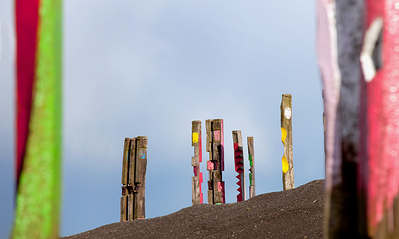 Totems - Halde Haniel - Fototour de Ruhr - Landmarken