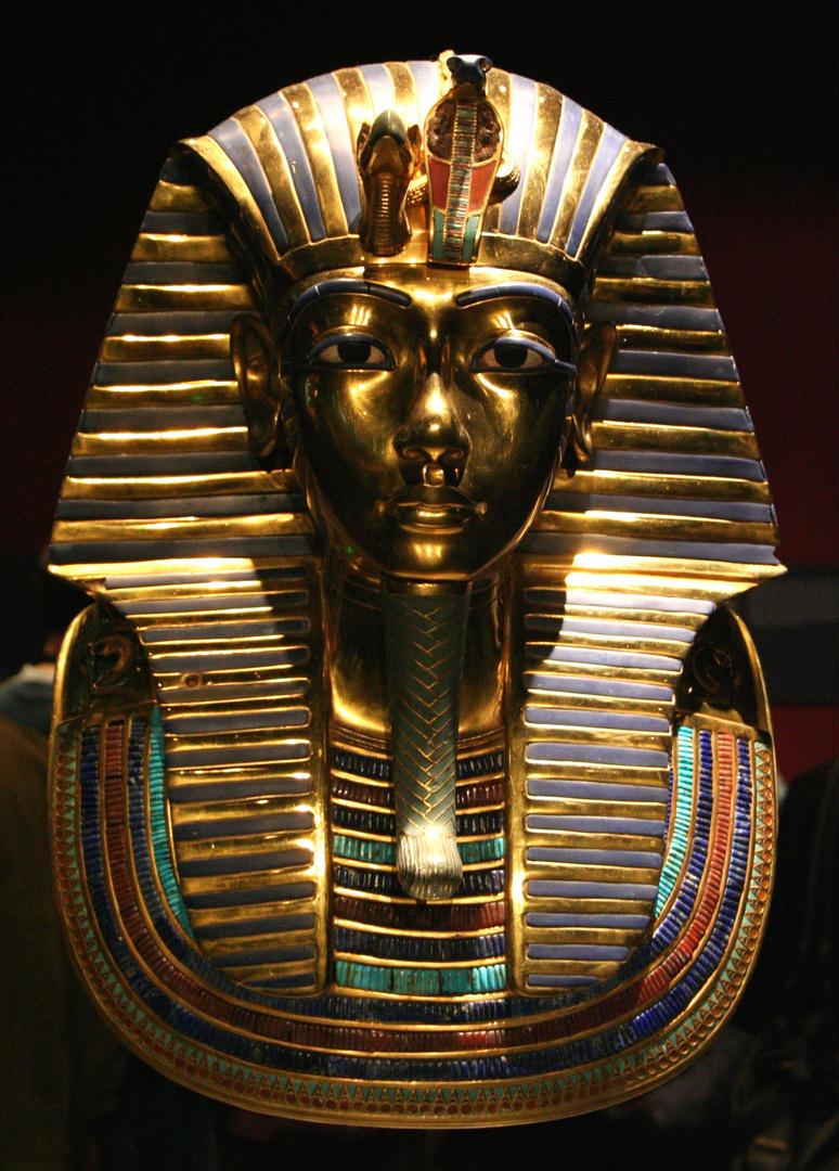 Totenmaske des Tut-Anch Amun