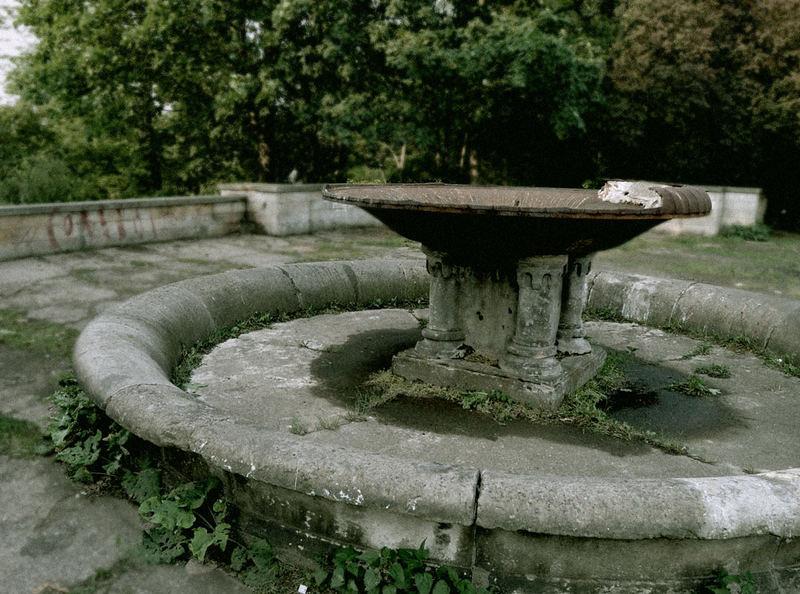 Toter Springbrunnen