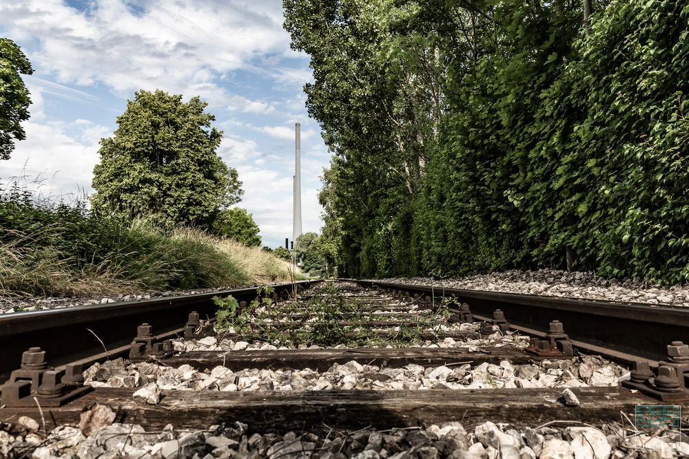 . . . totes Gleis zum Kohlekraftwerk
