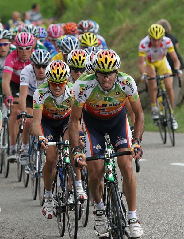 Tour de France 2005 - Anstieg Col de la Schlucht