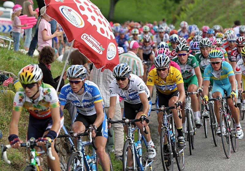 Tour de France 2005 - Anstieg Col de la Schlucht II