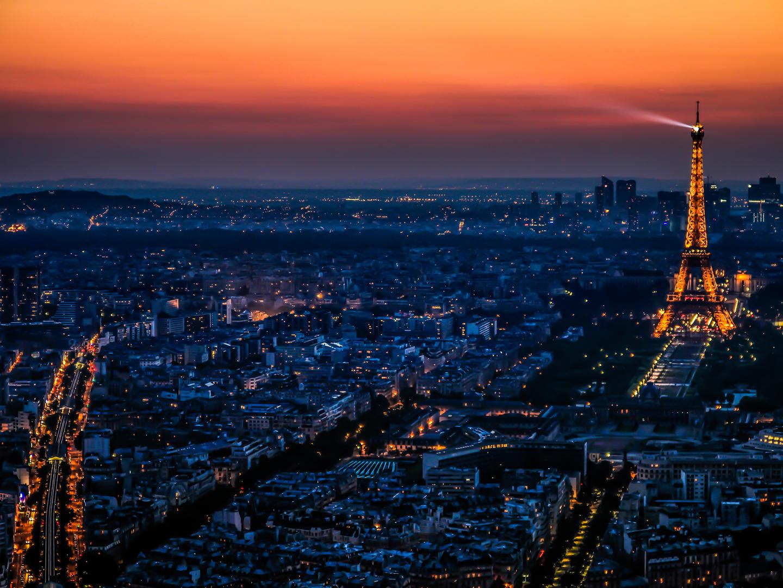 Tour Eiffel bei Nacht I
