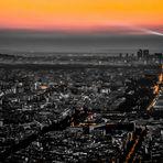 Tour Eiffel bei Nacht s/w