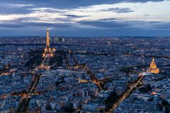 Tour Eiffel, Dôme des Invalides
