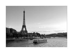 Tour Eiffel m. Seine