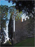 Tour nord-est des remparts du Château de Moniga del Garda
