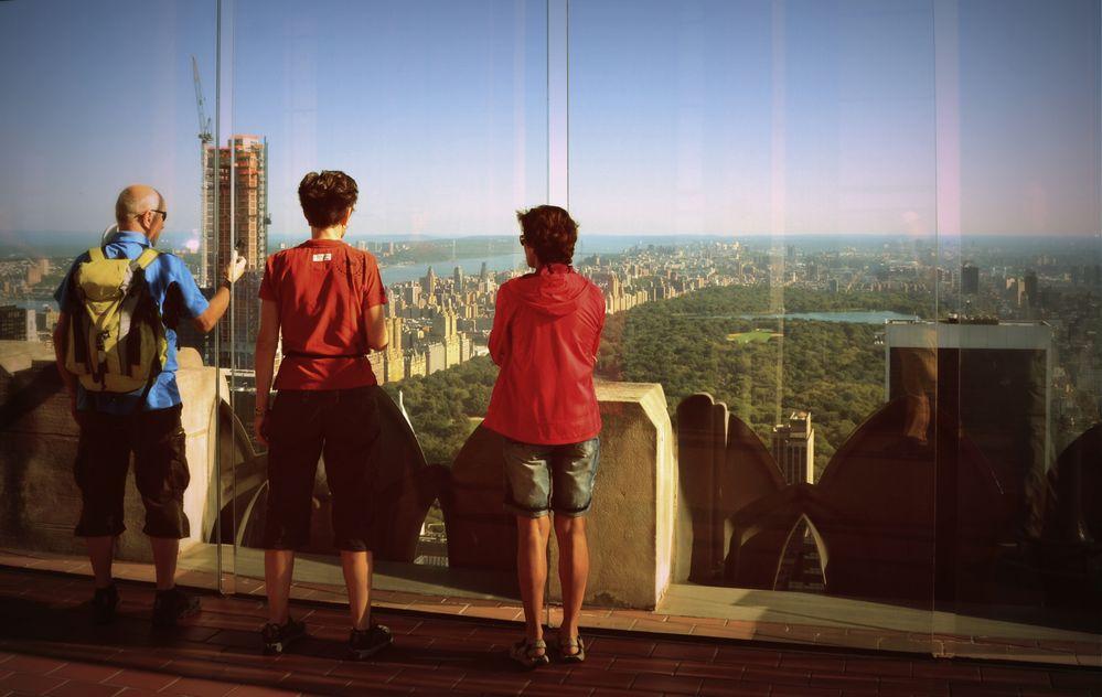 Touris in New York