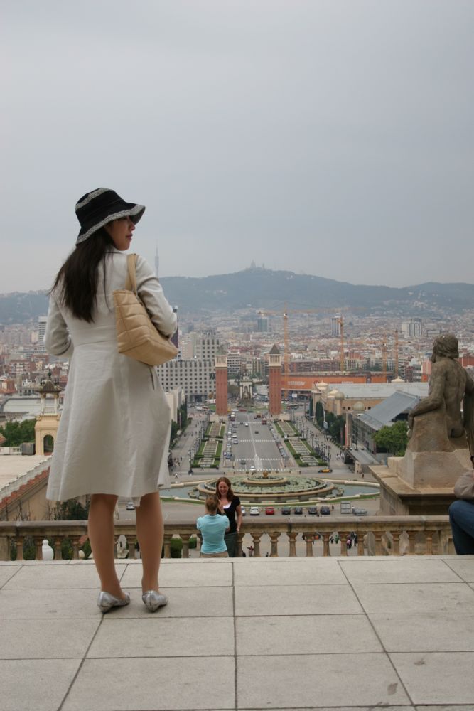 Tourist on Photograph