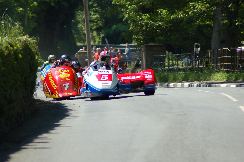 tourist trophy 2009 side car race 1