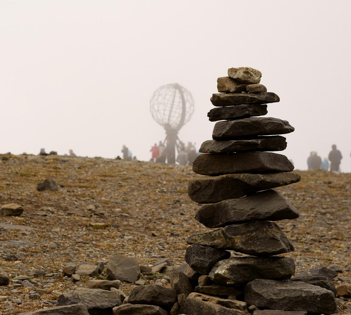 Touristen-Steine