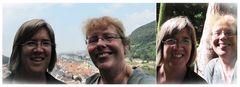 Touristinnen in Heidelberg