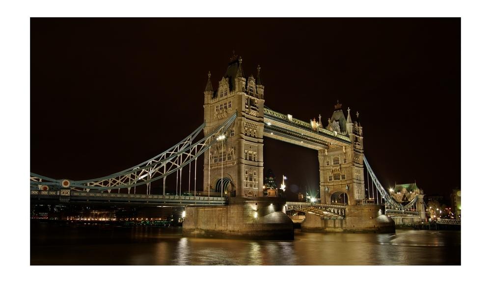 Tower Bridge bei Nacht (reloaded)
