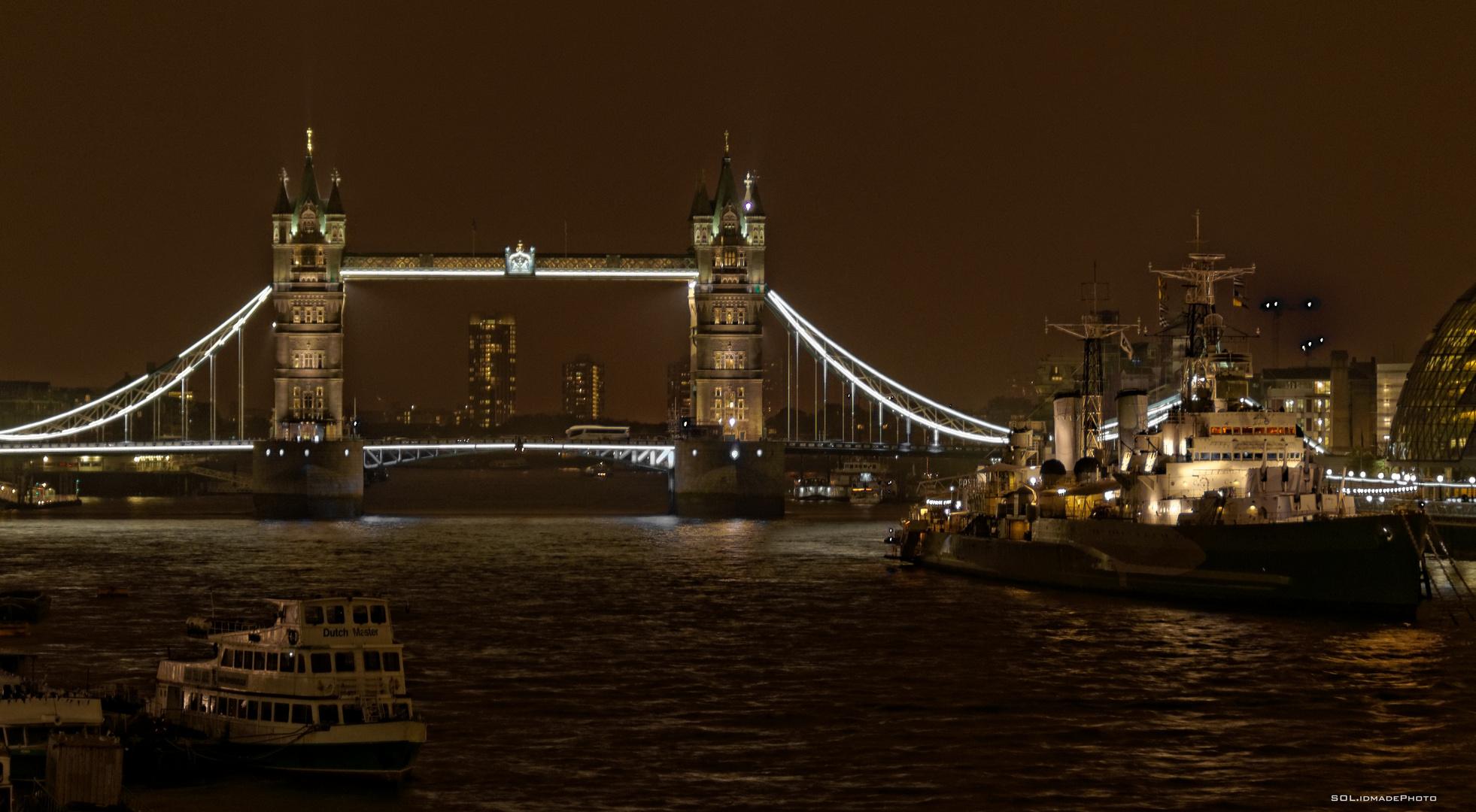 Tower Bridge last sunday