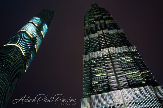 Towers @ Financial Center in shanghai